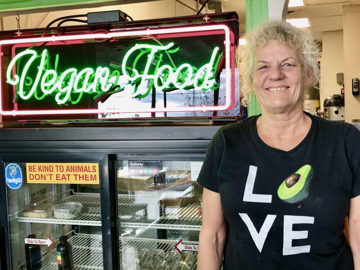 Vegan Food Here